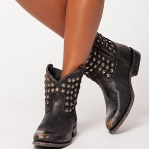 RARE FRYE Studded Boots